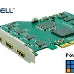 XI400DE-HDMI powered by vmix