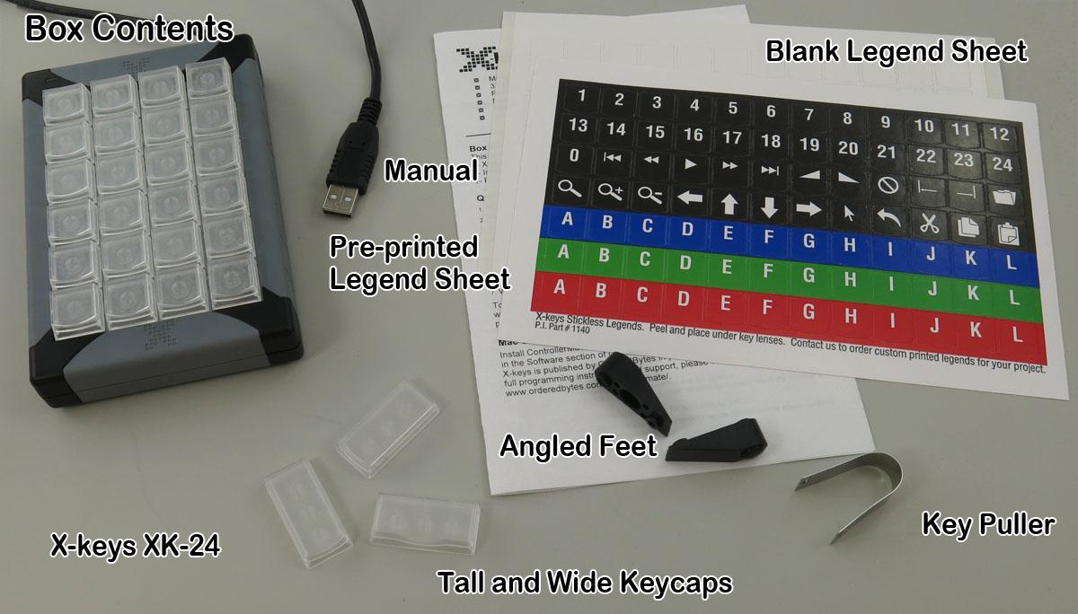 X-keys® XK-24 USB Keypad