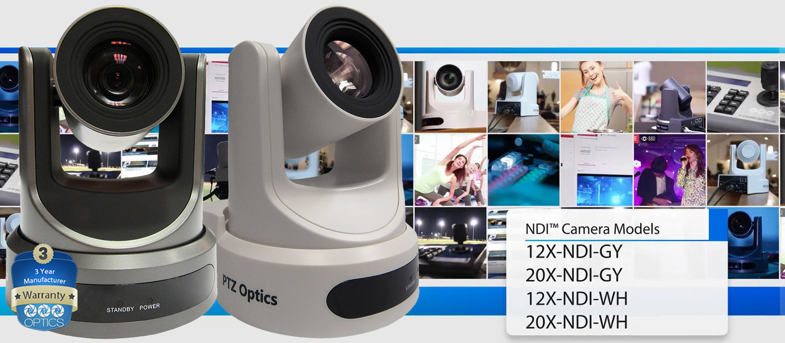 NDI Upgrade for PTZ Optics Cameras